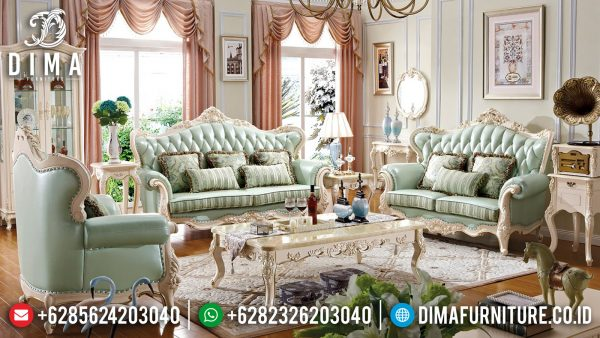 Best Seller Sofa Tamu Jepara Terbaru Luxurious Style ST-1382