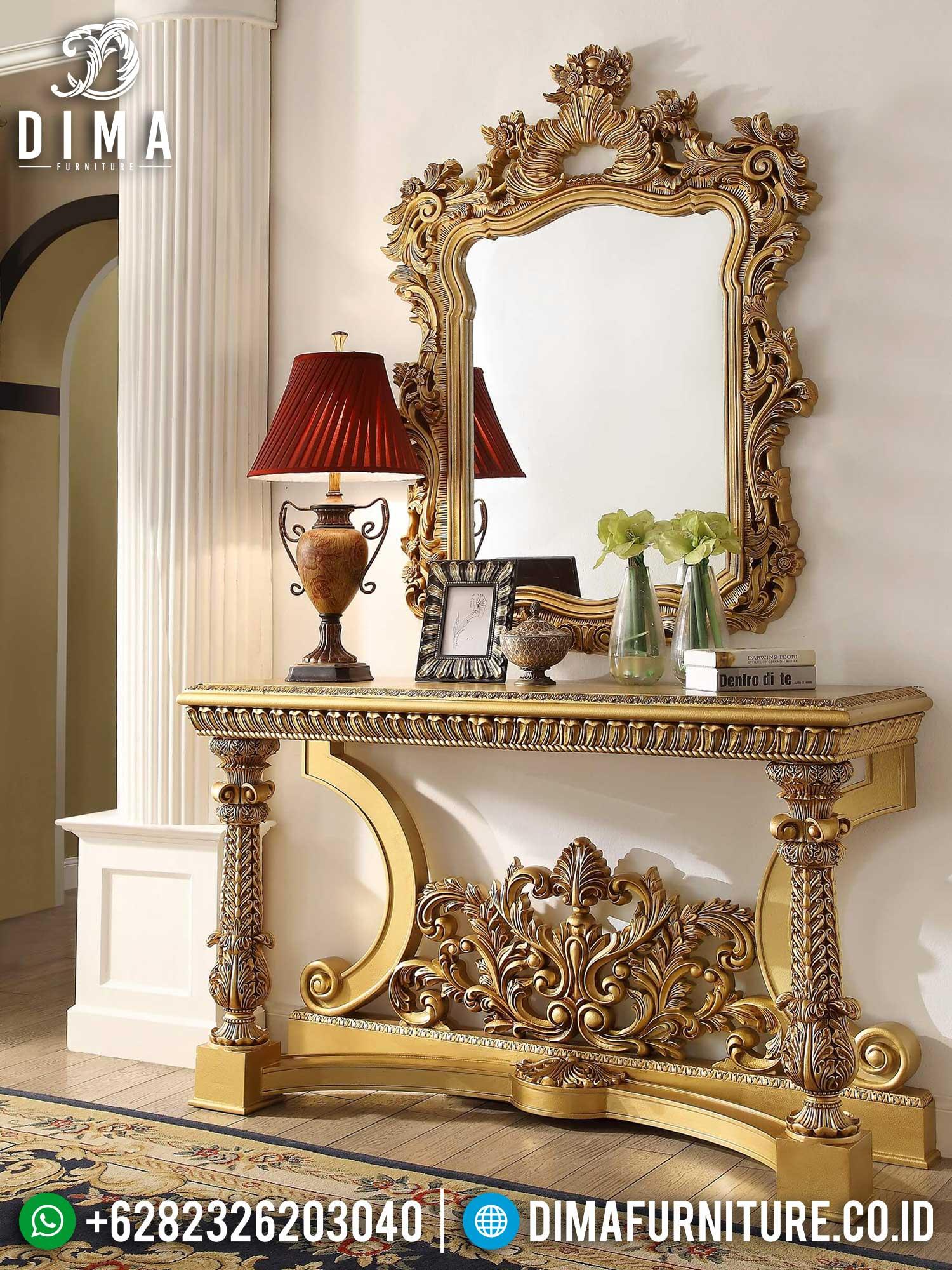 Cermin Hias Mewah Set Meja Konsol Luxury Classic Elegant Style ST-1340