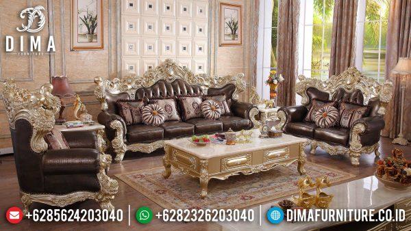 Classic Style New Sofa Tamu Mewah Terbaru Luxury Carving Art Deco Color ST-1362