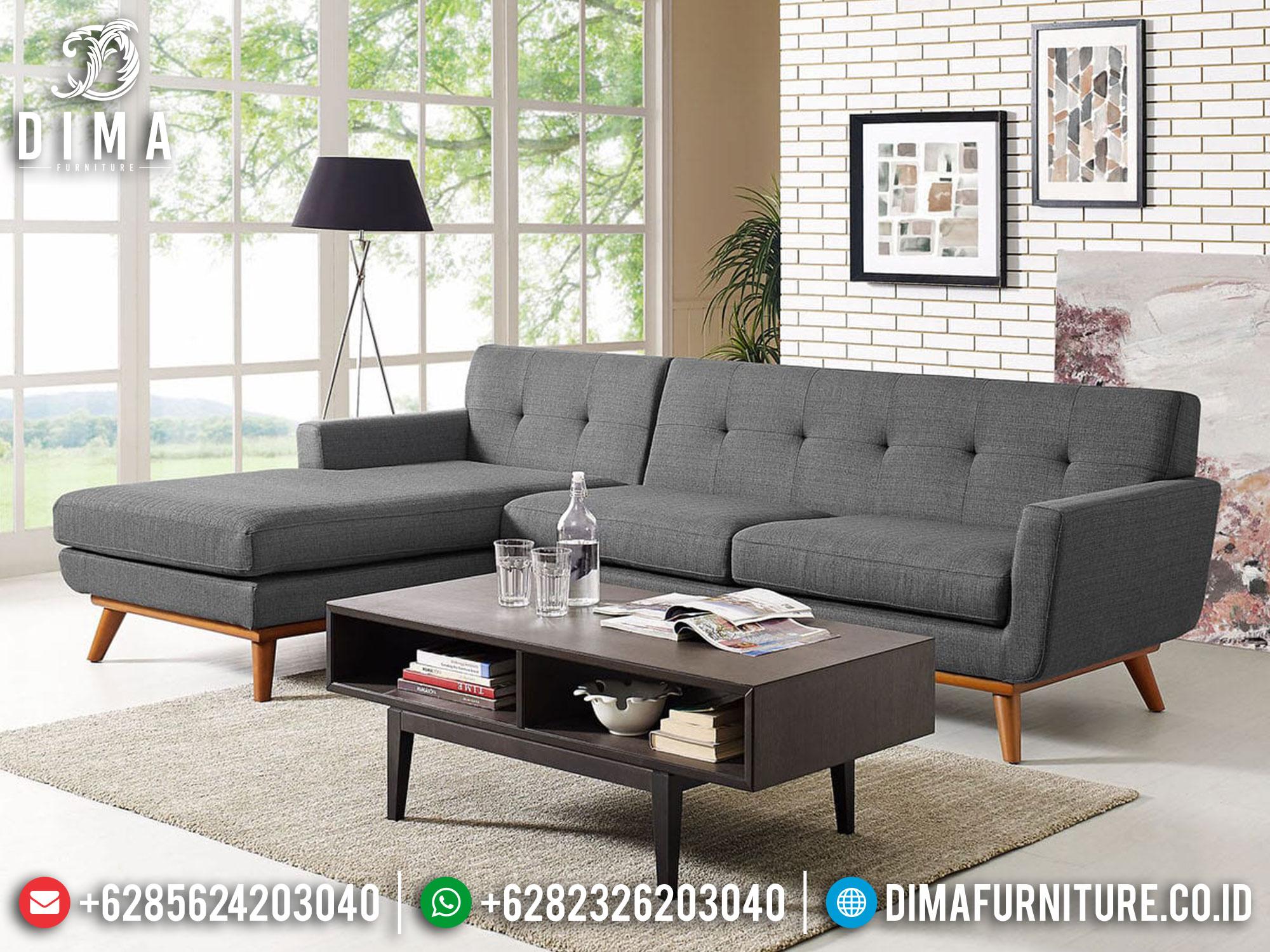 Desain Sofa Tamu Minimalis Classical Soft Fabric Royal Foam Comfortable ST-1264