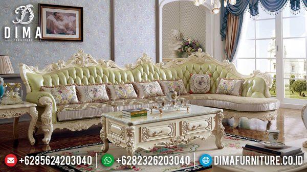 Elegant Set Sofa Ruang Tamu Mewah Luxury Carving Jepara ST-1381