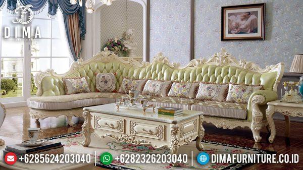 Flash Sale Sofa Tamu Mewah Jepara New Luxury Baroque Style Promo Ramadhan ST-1365
