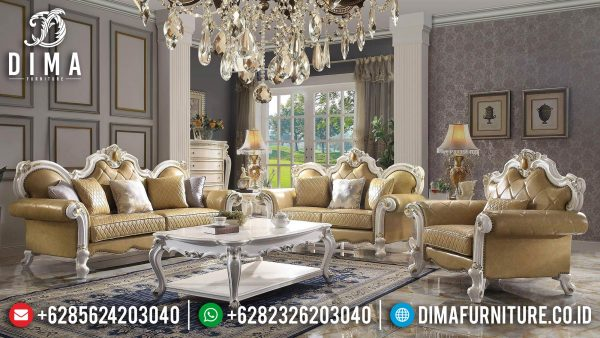 Get Sale Sofa Tamu Ukiran Jepara Luxurious Design ST-1384