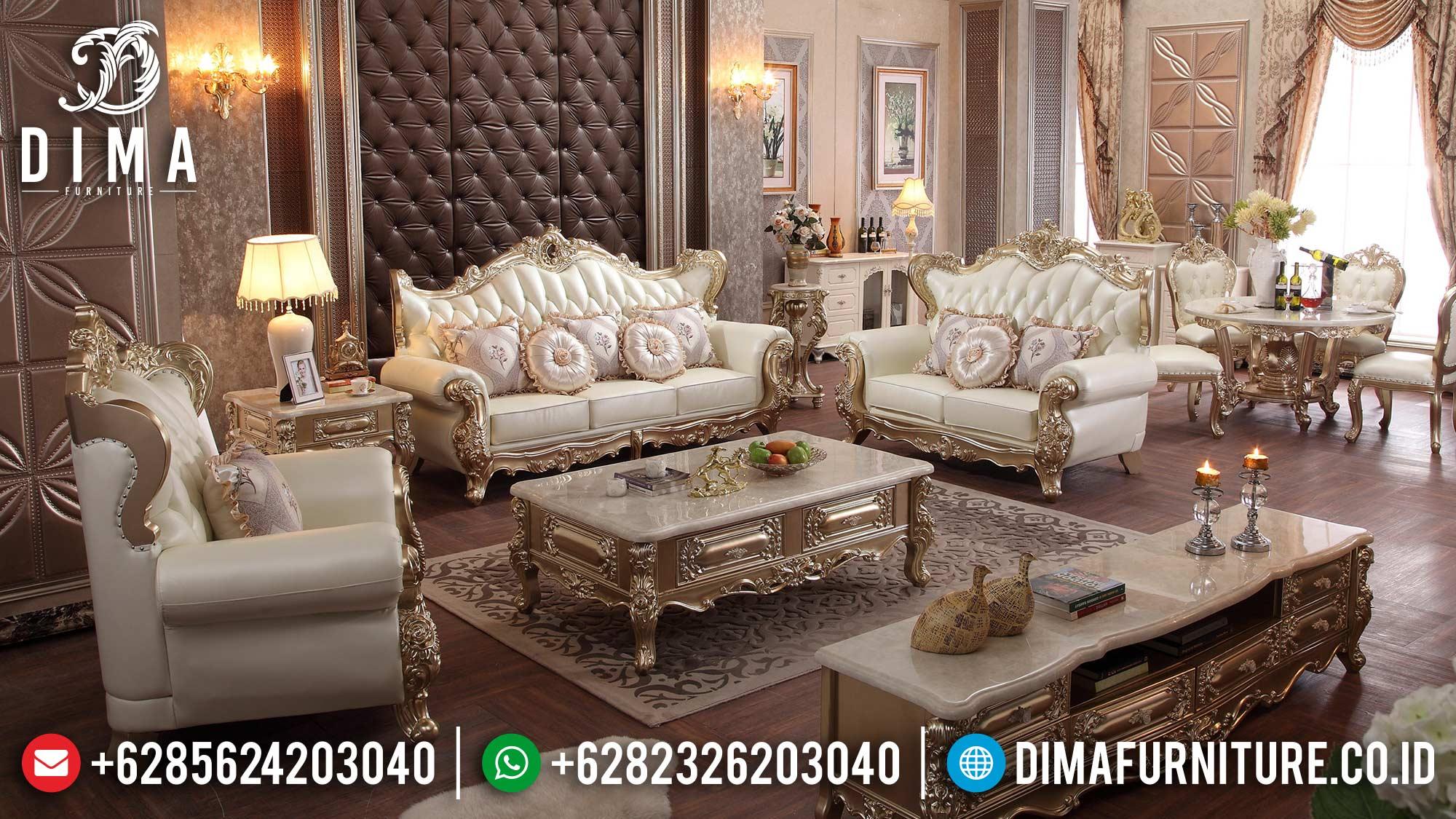 Great Sofa Tamu Mewah Terbaru Art Duco Color Ukiran Luxury Jepara ST-1352