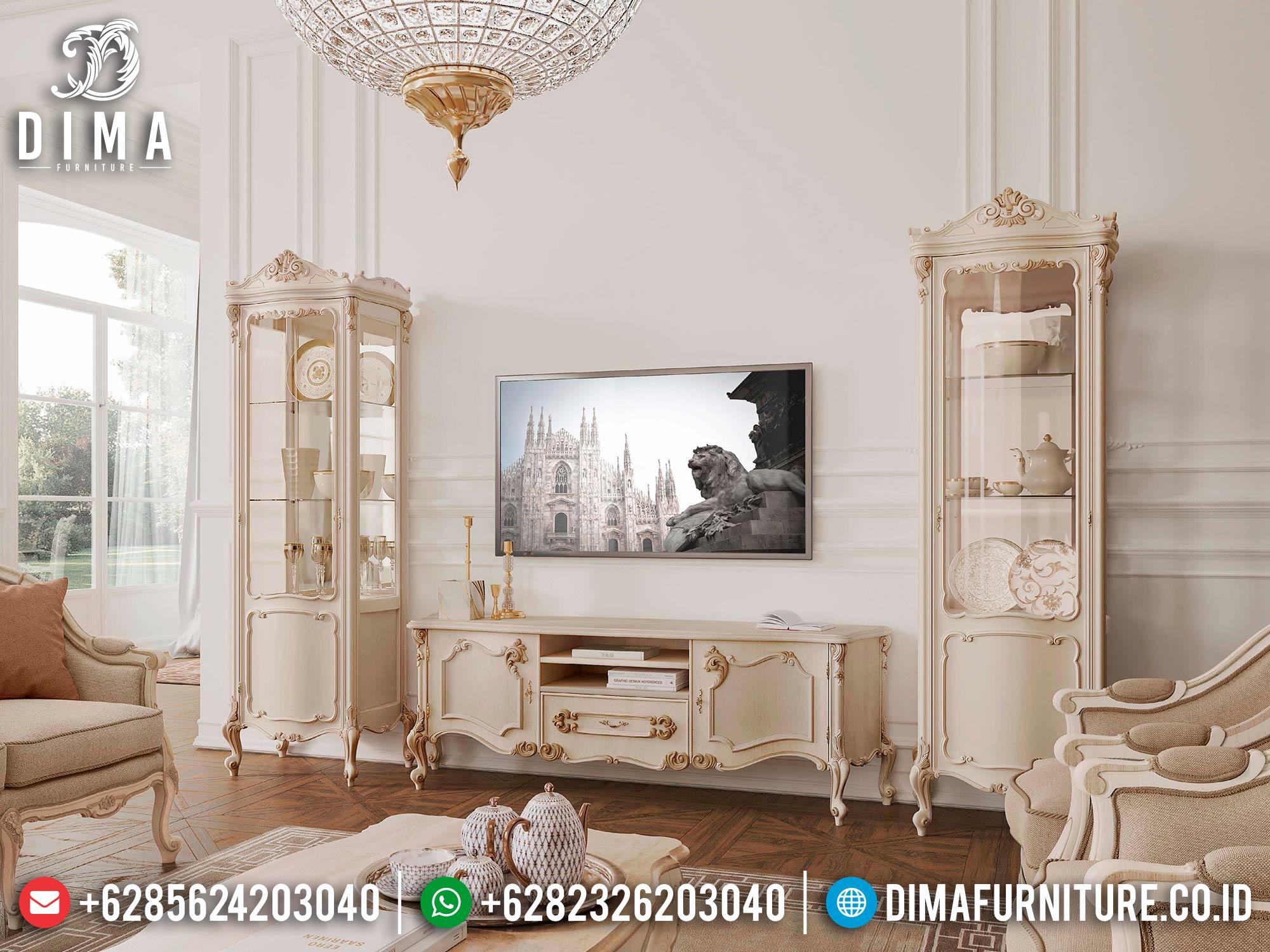 Harga Bufet TV Mewah Ukir Jepara Luxury Design Interior Inspiring ST-1402