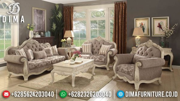 Harga Sofa Tamu Jepara Luxury Carving Best Seller 2021 ST-1378