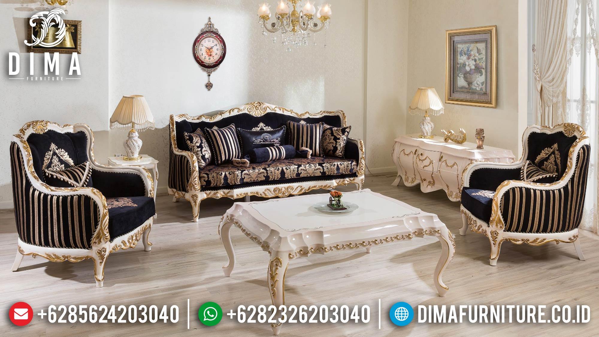Harga Sofa Tamu Mewah Jepara Luxury Classic Carving Victorian Carving ST-1279