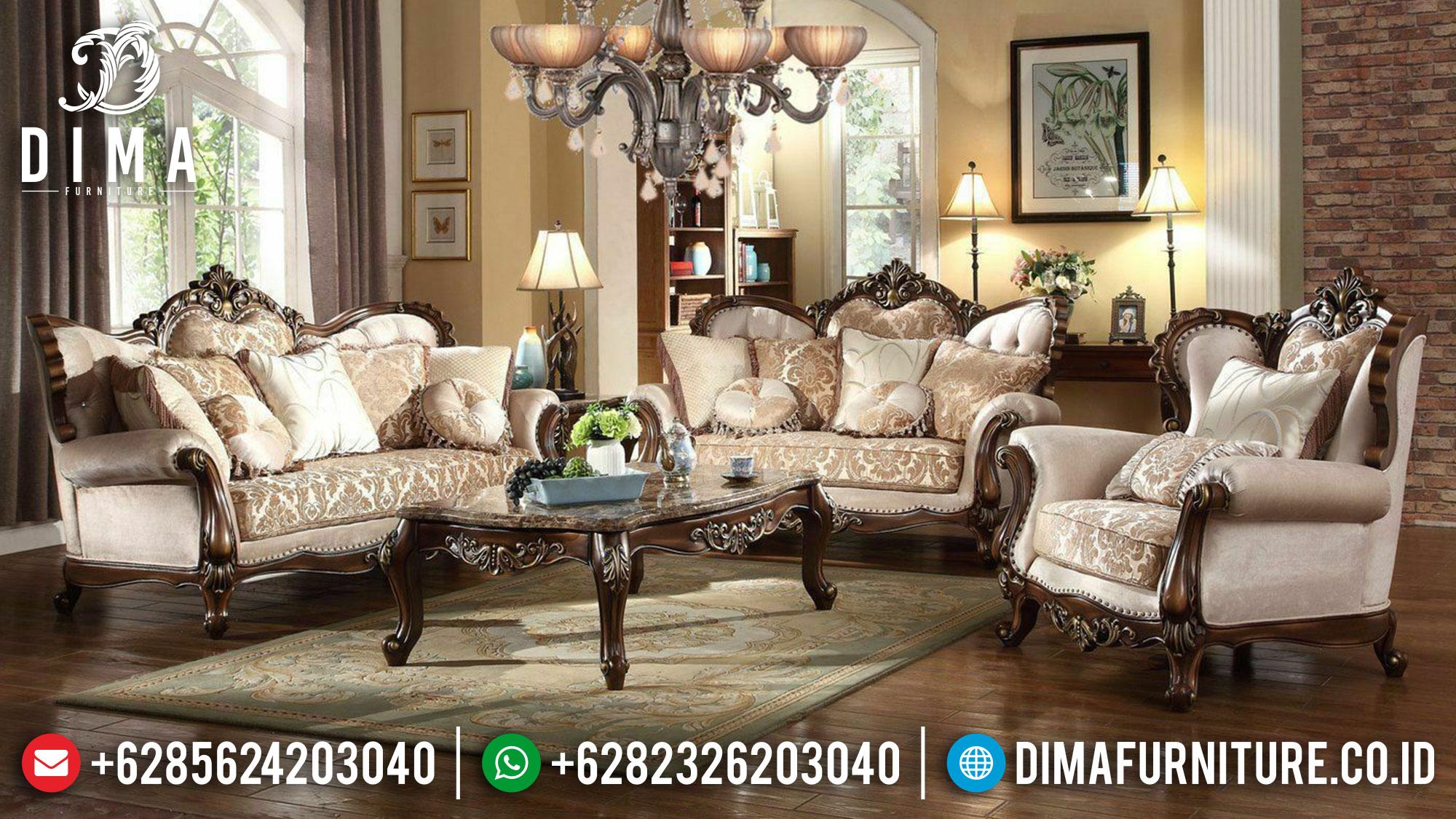 Iris Style Sofa Ruang Tamu Mewah Classic Luxury Furniture Jepara ST-1282