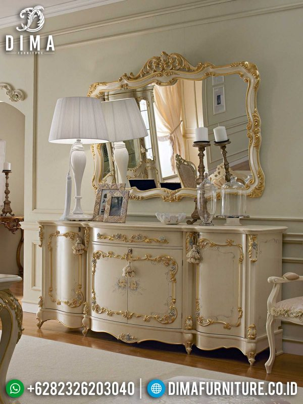 Jual Meja Konsol Mewah Ukiran Classic Luxurious Style New Furniture Jepara ST-1342
