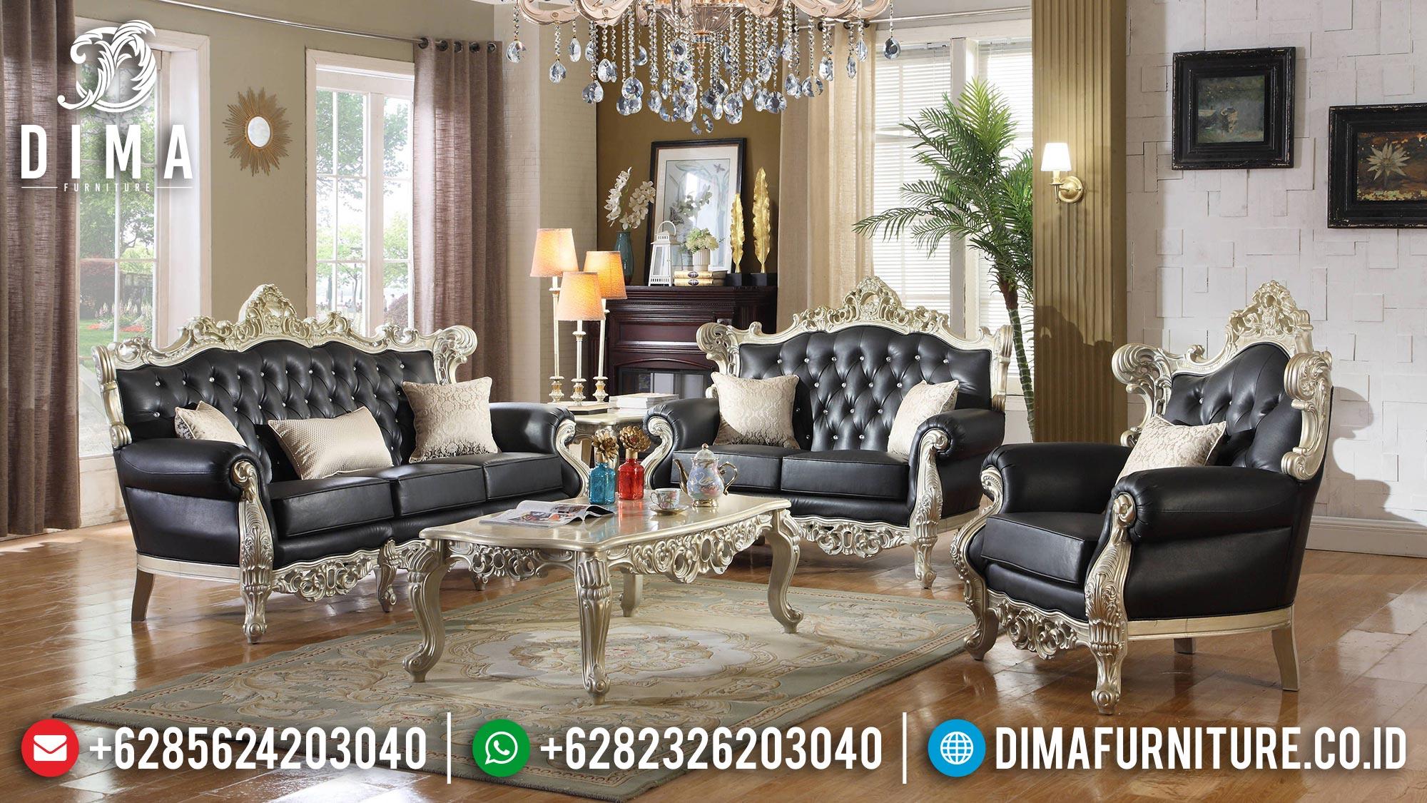 Jual New Sofa Tamu Mewah Jepara Luxury Style Furniture Jepara ST-1374