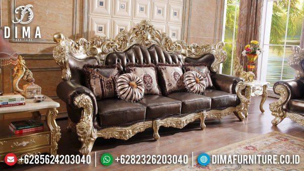 Jual Sofa 3 Dudukan Mewah Ukir Jepara Luxury Carving Best Seller ST-1369