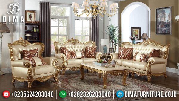 Jual Sofa Tamu Mewah Ukiran Jepara Luxurious Sets Carving Majestic ST-1281