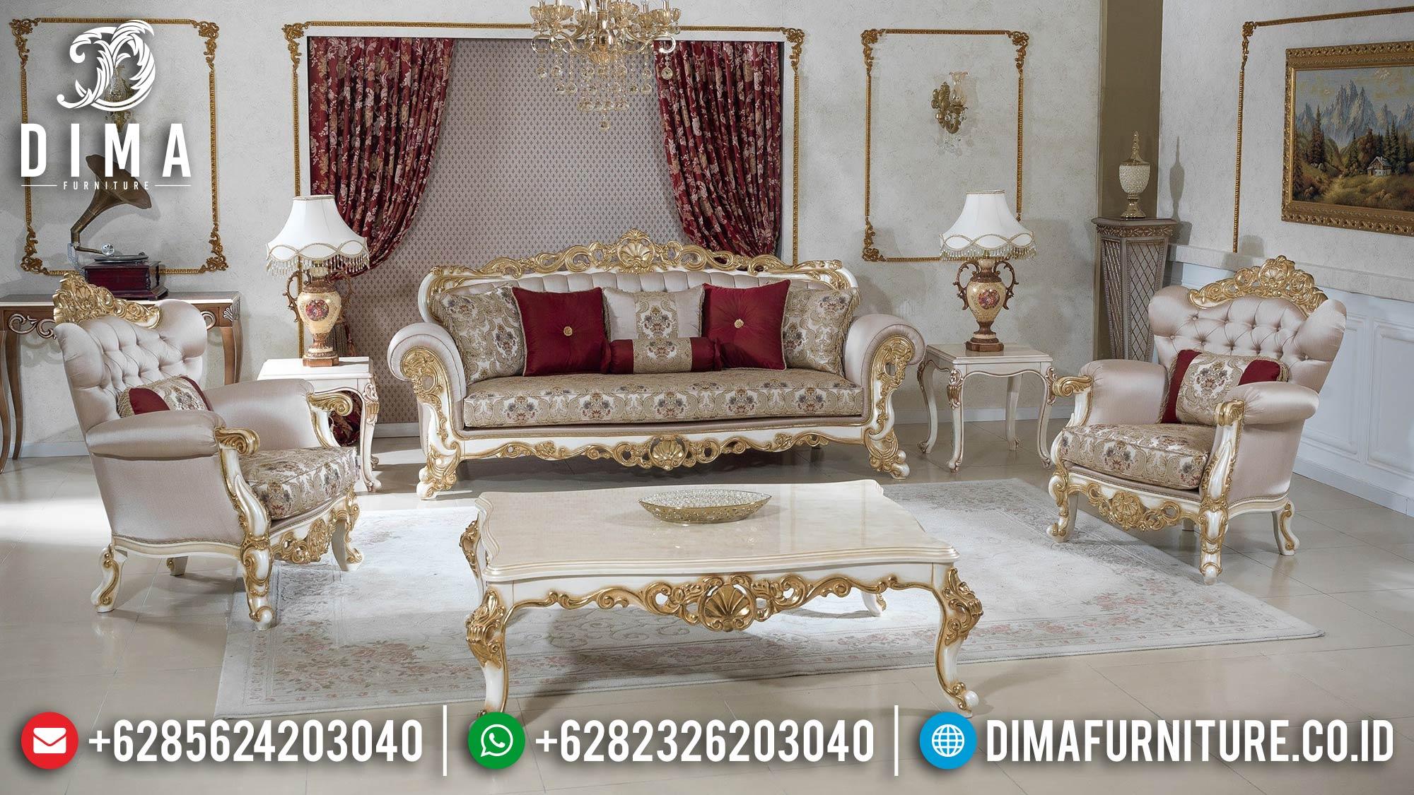 Jual Sofa Tamu Mewah Ukiran Jepara Luxury Elegant Design Jepara ST-1316