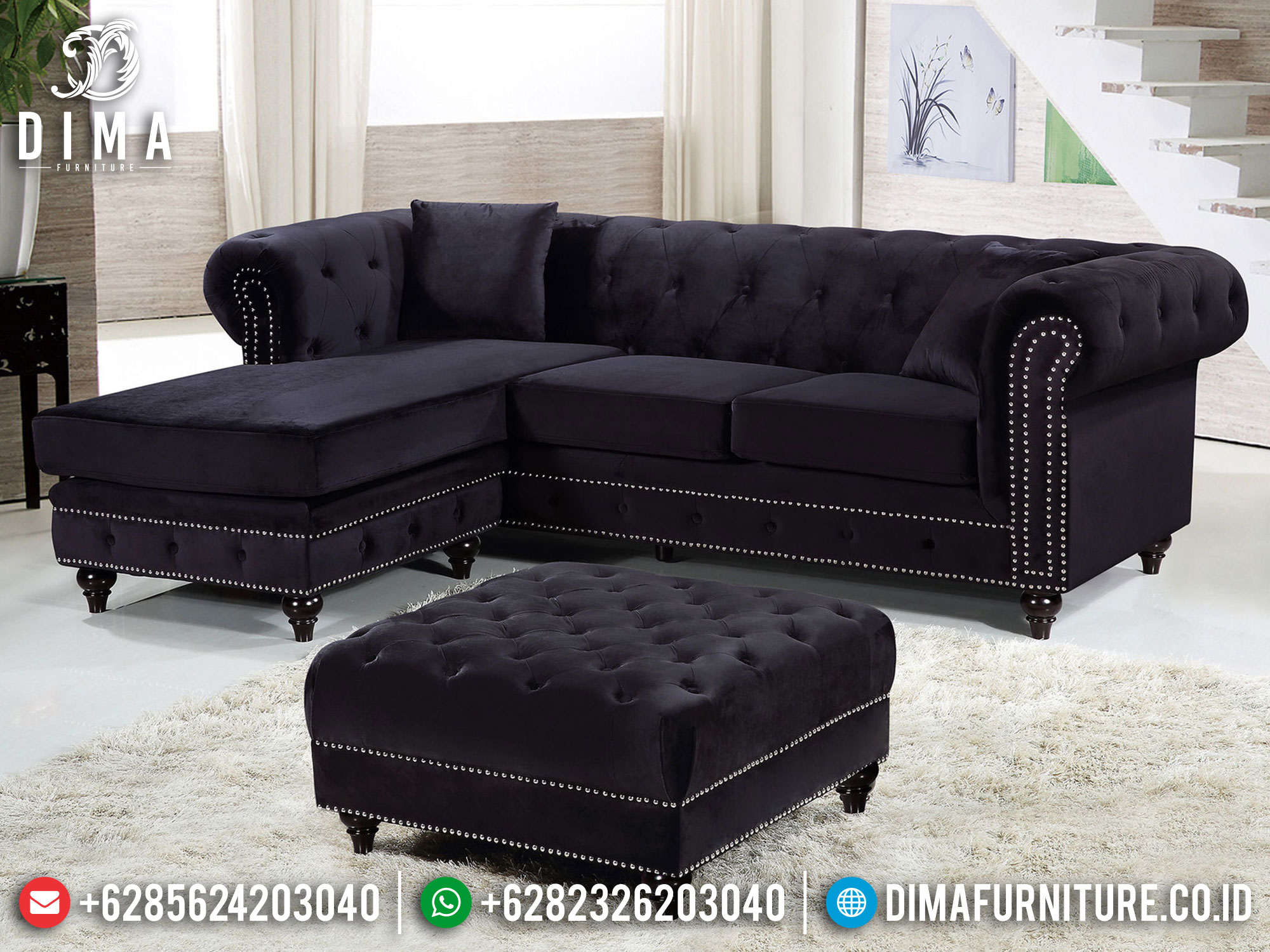Jual Sofa Tamu Minimalis Terbaru Furniture Jepara Luxury New Design ST-1265
