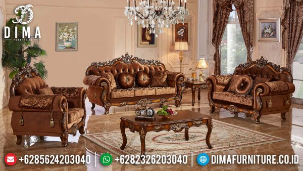 Kursi Sofa Tamu Mewah Terbaru Classic Luxury Design Luxury Greatest ST-1288