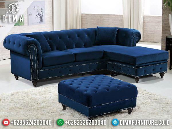 Loveseat Sofa Sudut Chester Terbaru Best Royal Foam High Quality ST-1266
