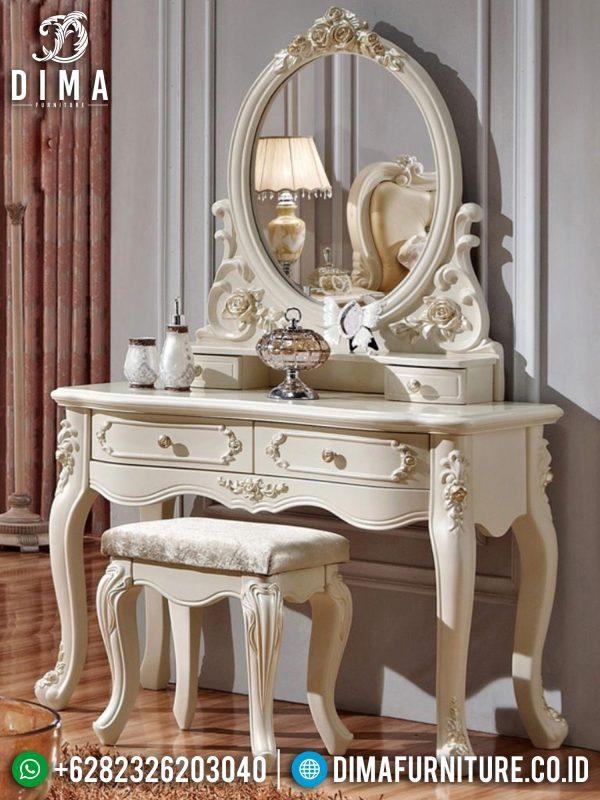 Meja Rias Mewah Terbaru Furniture Jepara Luxury Classic Elegant Design ST-1334