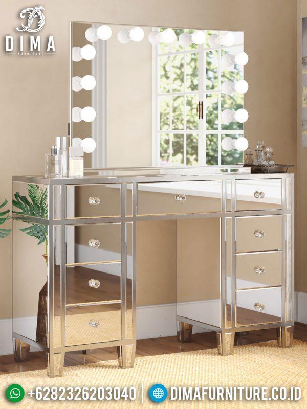 Meja Rias Minimalis Terbaru New Furniture Jepara Luxury Style ST-1329