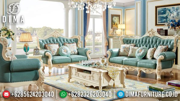 Model Sofa Tamu Mewah Terbaru Luxury Classic Elegant Carving ST-1379