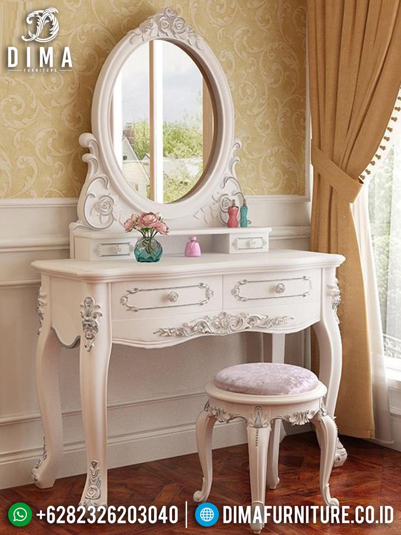 New Meja Rias Mewah Ukir Luxurious Set Design Furniture Jepara ST-1392