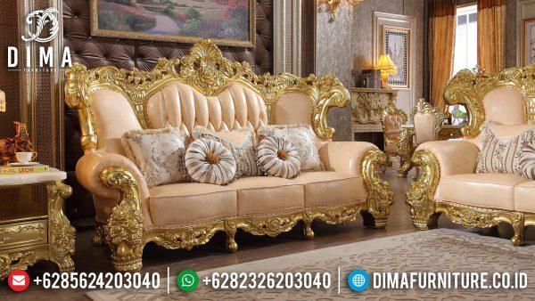 New Model Sofa Tamu Mewah Ukir Jepara Glorious Style Mebel Jepara ST-1372