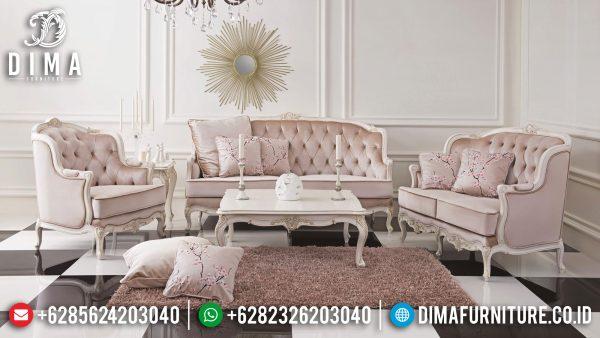 New Sofa Tamu Minimalis Jepara Jati Natural Classic Best Seller ST-1300