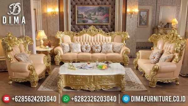 Promo Ramadhan New Sofa Tamu Mewah Ukir Jepara Luxury Golden Shine Duco Color ST-1356