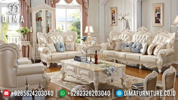 Promo Ramadhan Sofa Tamu Mewah Luxury Elegant Color Design ST-1386