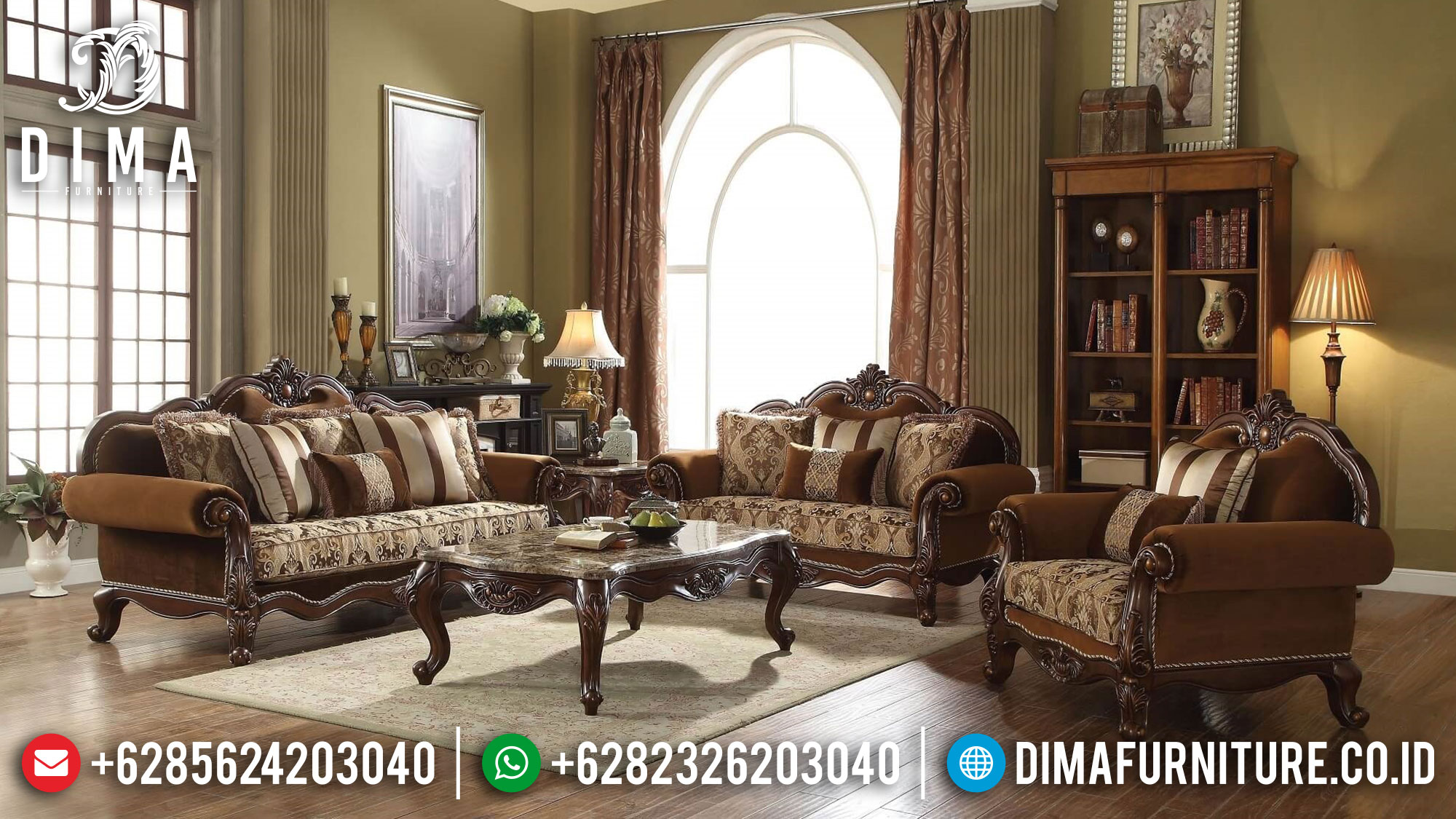 Sale Item Sofa Tamu Mewah Jepara Luxurious Great Design ST-1284