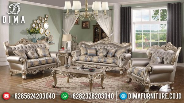 Set Sofa Tamu Mewah Luxury Elegant Color Art Duco Glossy ST-1376