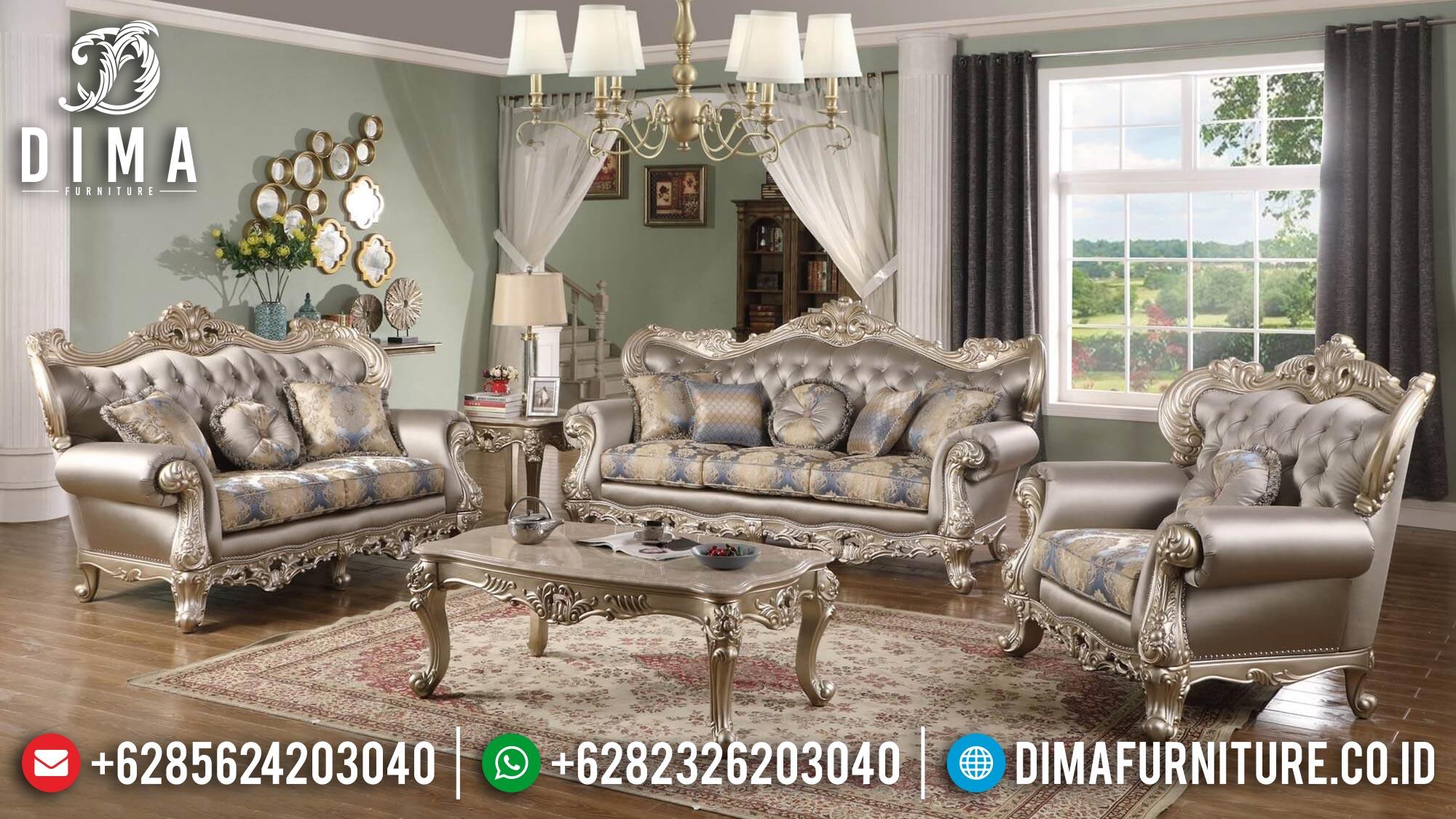 Set Sofa Tamu Mewah Luxury Elegant Color Art Duco Glossy ST-1376
