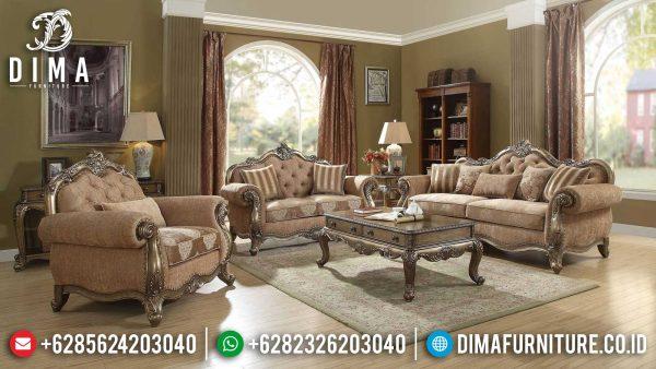Set Sofa Tamu Mewah Ukiran Jepara Luxury Elegant Design Jepara ST-1295
