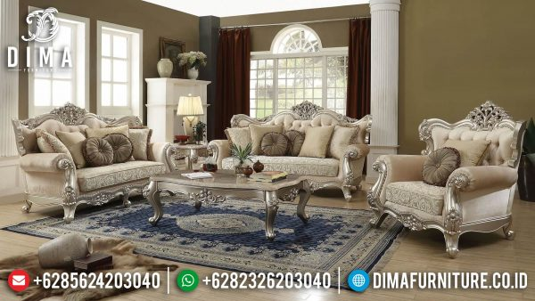 Sofa Tamu Jepara Mewah Ukiran Luxury Excellent Duco Color ST-1377
