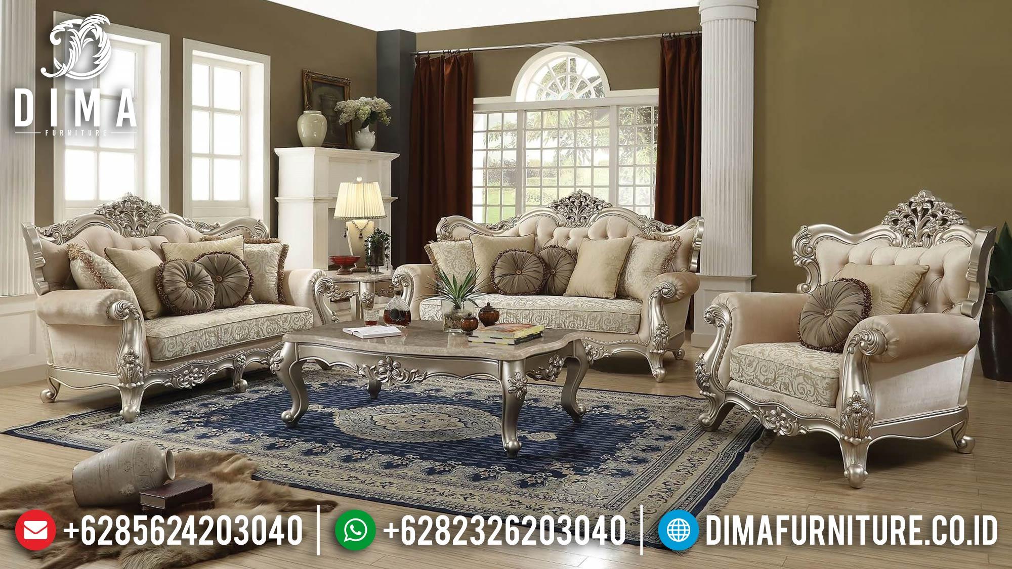 Sofa Tamu Jepara Mewah Ukiran Luxury Excellent Duco Color ST-1377