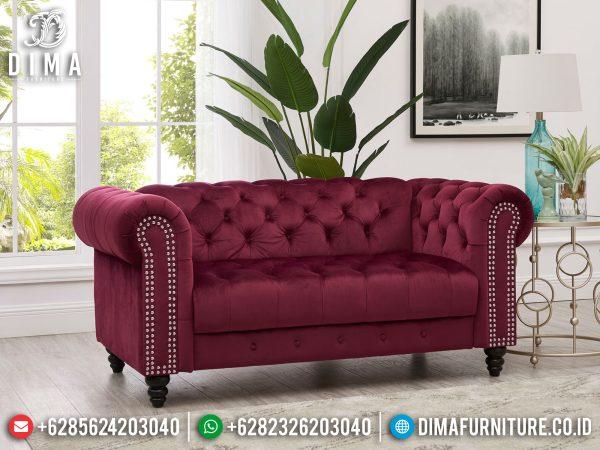 Sofa Tamu Jepara Terbaru Simple Elegant Design Luxury Classic ST-1325