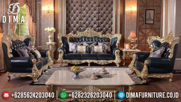 Sofa Tamu Mewah Jepara Excellent Color Luxury Set Furniture Design ST-1354