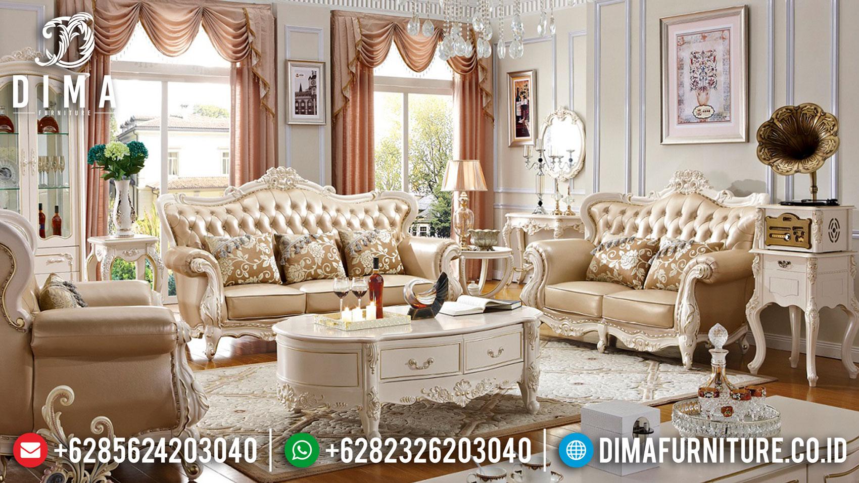 Sofa Tamu Mewah Jepara Luxury Carving Classic New Set Design ST-1359