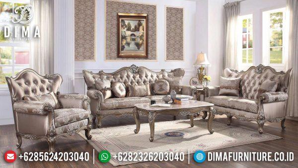 Sofa Tamu Mewah Jepara, Sofa Tamu Terbaru Luxury Design, New Furniture Jepara Sofa ST-1357