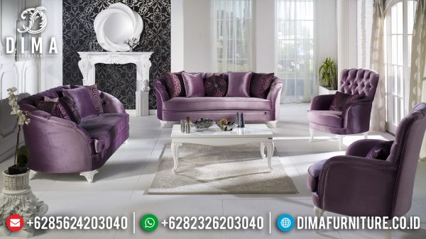 Sofa Tamu Mewah Minimalis Shabby Chic Luxury Design High Quality Item ST-1296