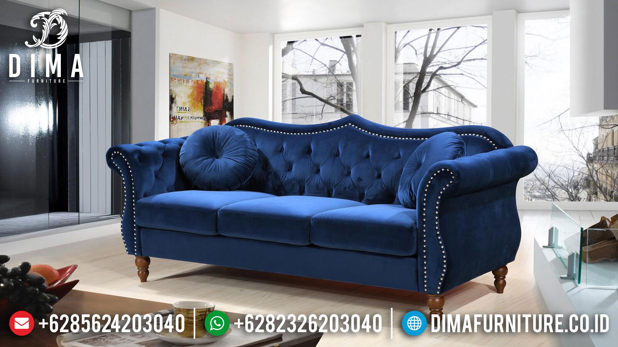 Sofa Tamu Minimalis 3 Dudukan Elegant Classic Luxury Jepara ST-1305