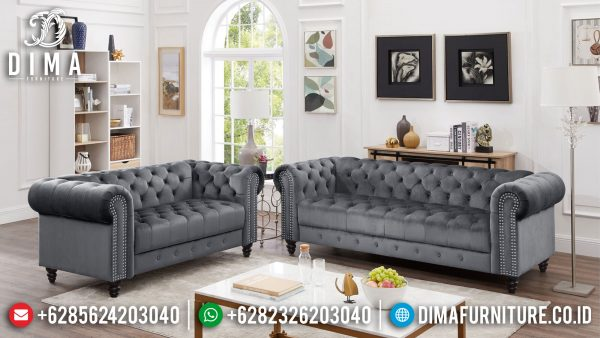Sofa Tamu Minimalis Terbaru Chester Luxury New Style ST-1390