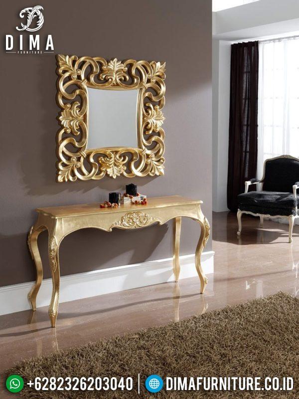 Victorian Meja Konsol Mewah Ukiran Jepara Classic Luxury High Quality ST-1346