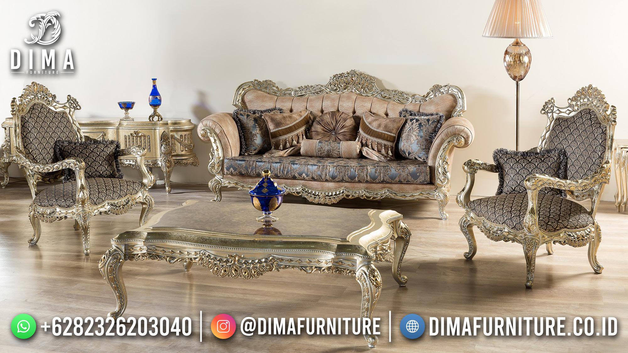 Absolute Set Sofa Tamu Mewah Luxury Royals Classic New Style ST-1428