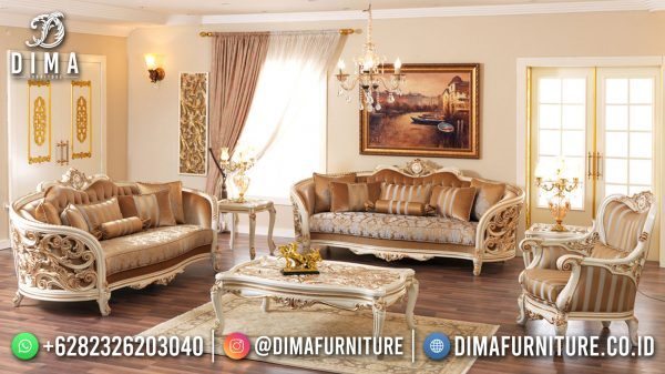 Amazing Design Sofa Tamu Mewah Jepara Luxury Carving Classic ST-1439