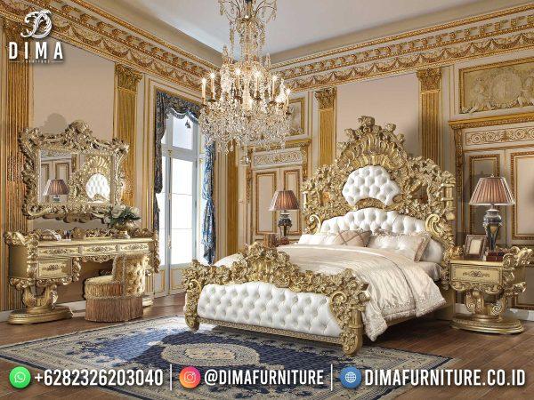 Baroque Style Tempat Tidur Mewah Jepara Luxury Empire Classic Design ST-1424