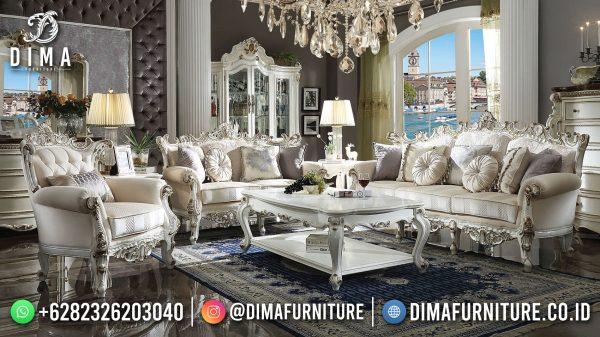 Beautiful Set Sofa Tamu Mewah Ukir Jepara Luxury Excellent Duco Color ST-1441