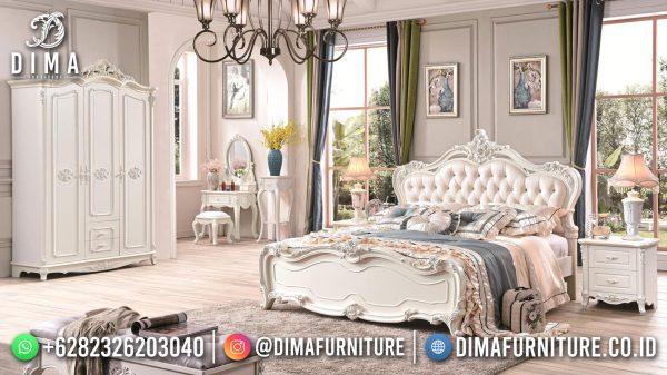 Beli Tempat Tidur Mewah, Dipan Ukiran Jepara Luxury Best Seller ST-1417