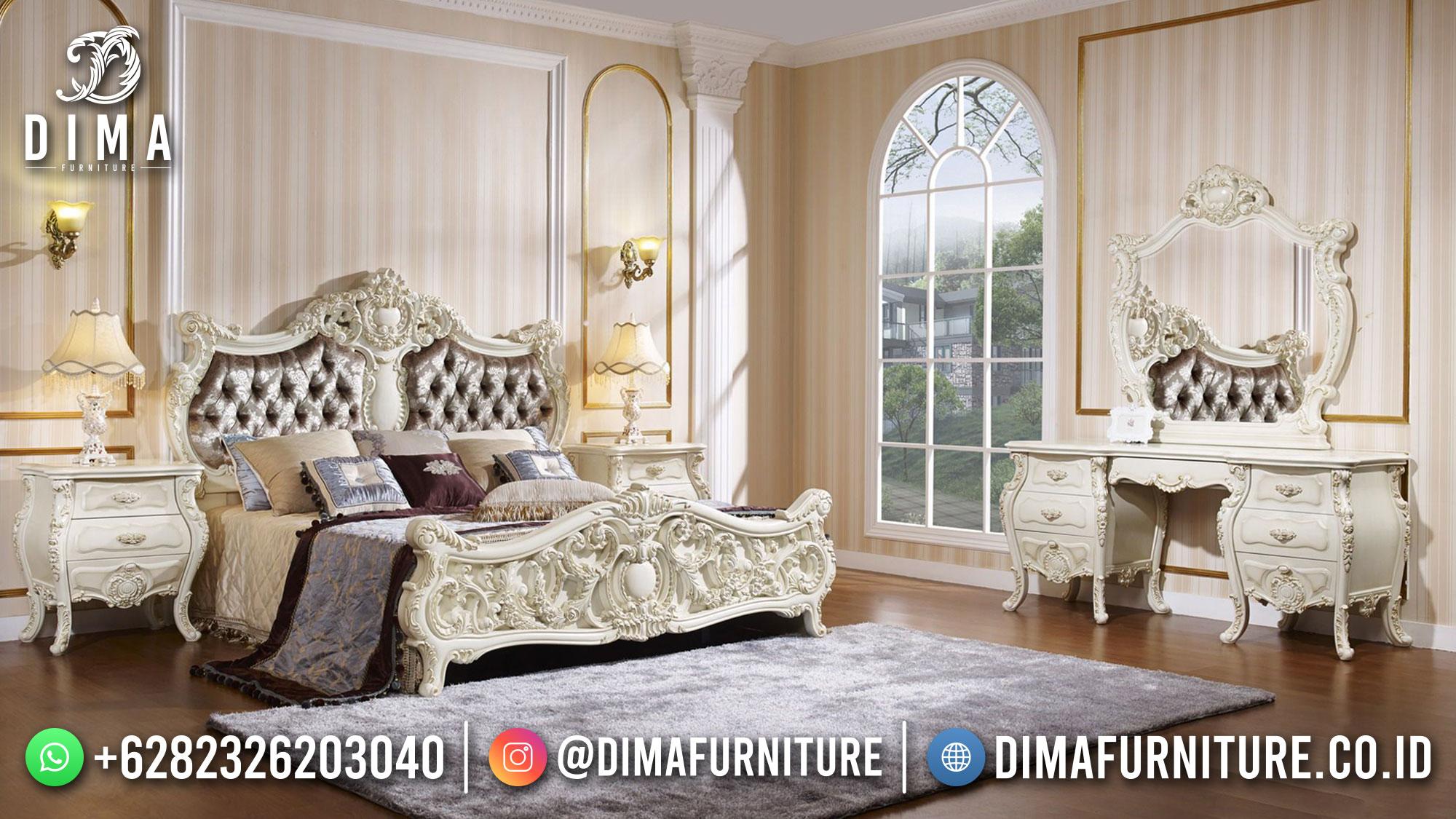 Best Sale Tempat Tidur Mewah Jepara Classic Luxury Design ST-1404