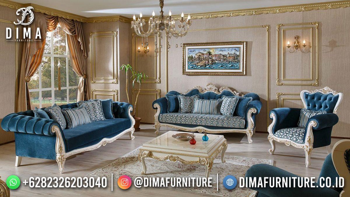 Big Discount Sofa Tamu Mewah Terbaru Luxury Carving Furniture Jepara ST-1440