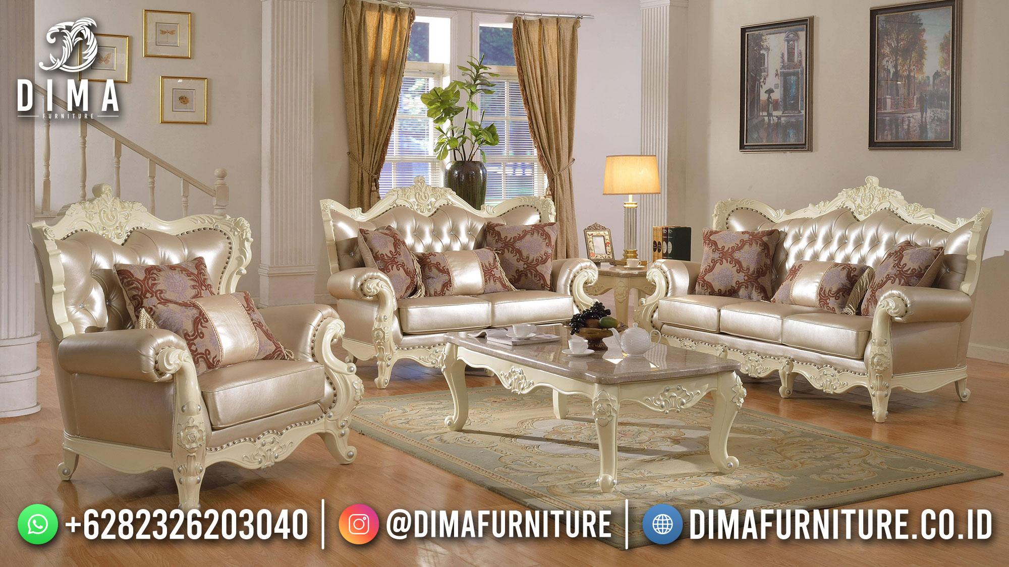 Classic Imperial Desain Sofa Tamu Mewah Jepara Luxury Great Quality ST-1444